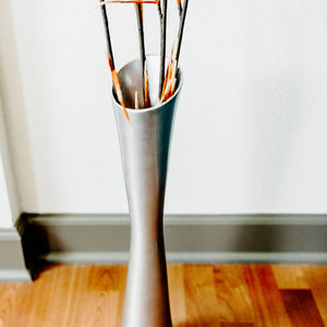 "20"" Fluted Vase 