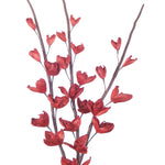 32'' Sword Lilies (Pack of 5 Stems), 3', Red