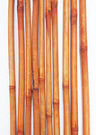 Decorative Bamboo Poles 3.5 FT, Light Burnt Orange QTY 10