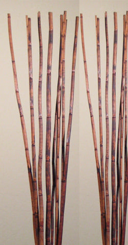 6 Ft Natural River Cane - Rustic Light Mahogany