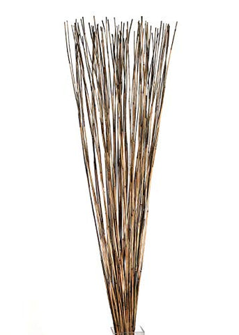 "Green Floral Crafts | Decorative Reed Sticks | Approximately 4' by 1/16"" Diameter 