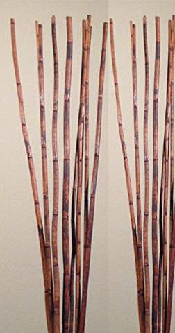 Natural River Cane 3.5 Ft, Rustic Brown, Pack of 15