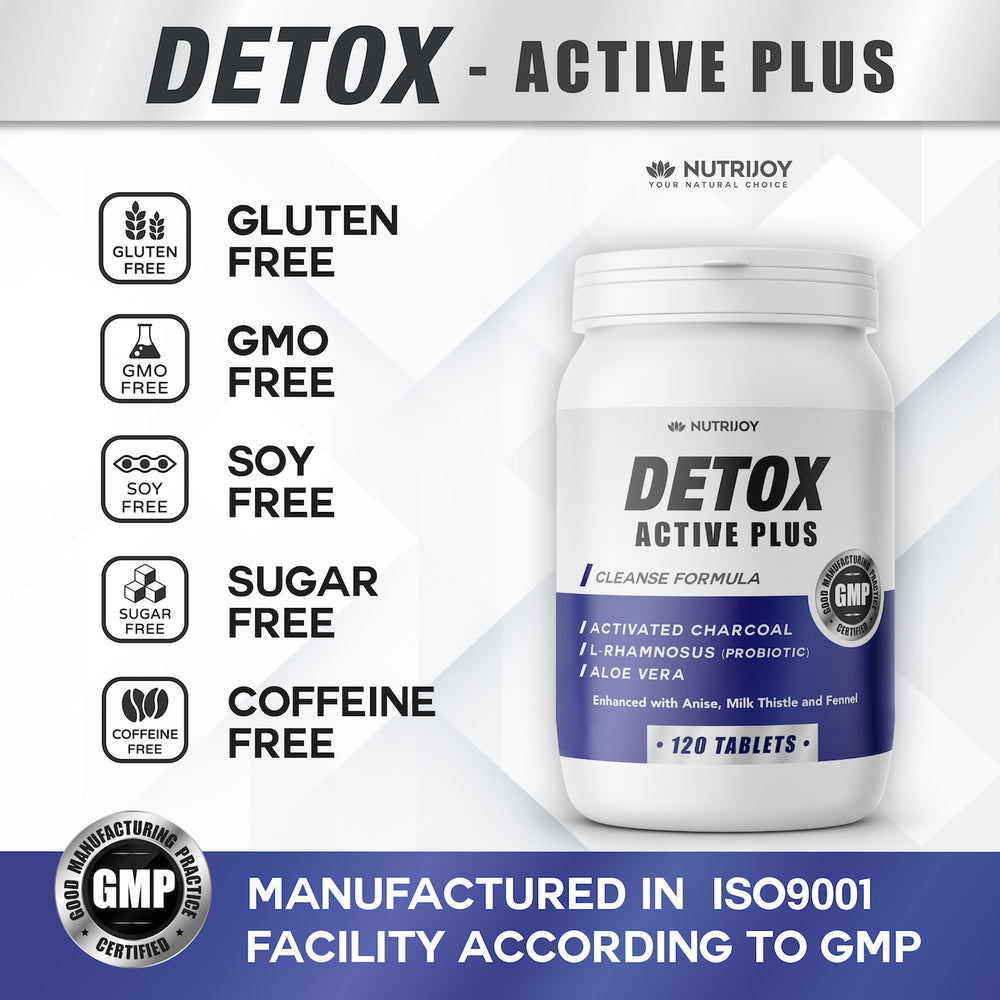 Detox Active Plus - 120 Tabletten