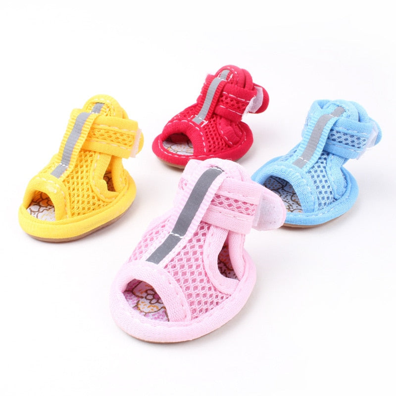 Pet Breathable Sandals Antiburn and Antiskid