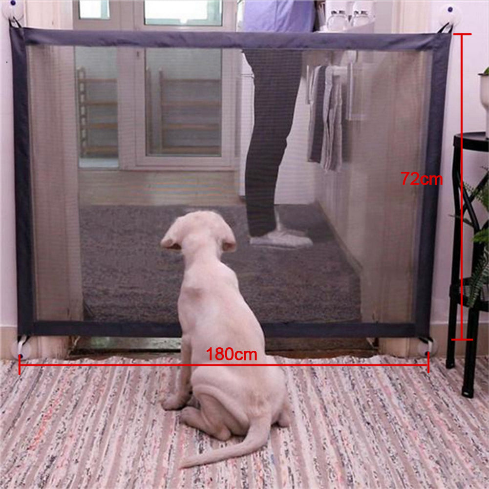 Safety and Portable Easy Install Barrier for Pets or Kids