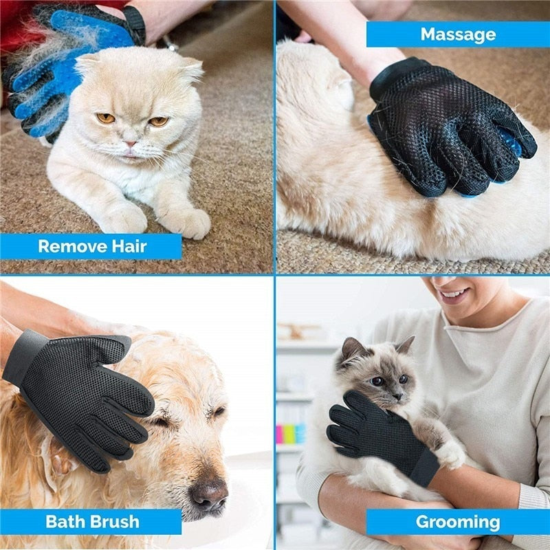 Glove Brush For Dog and Cat Grooming