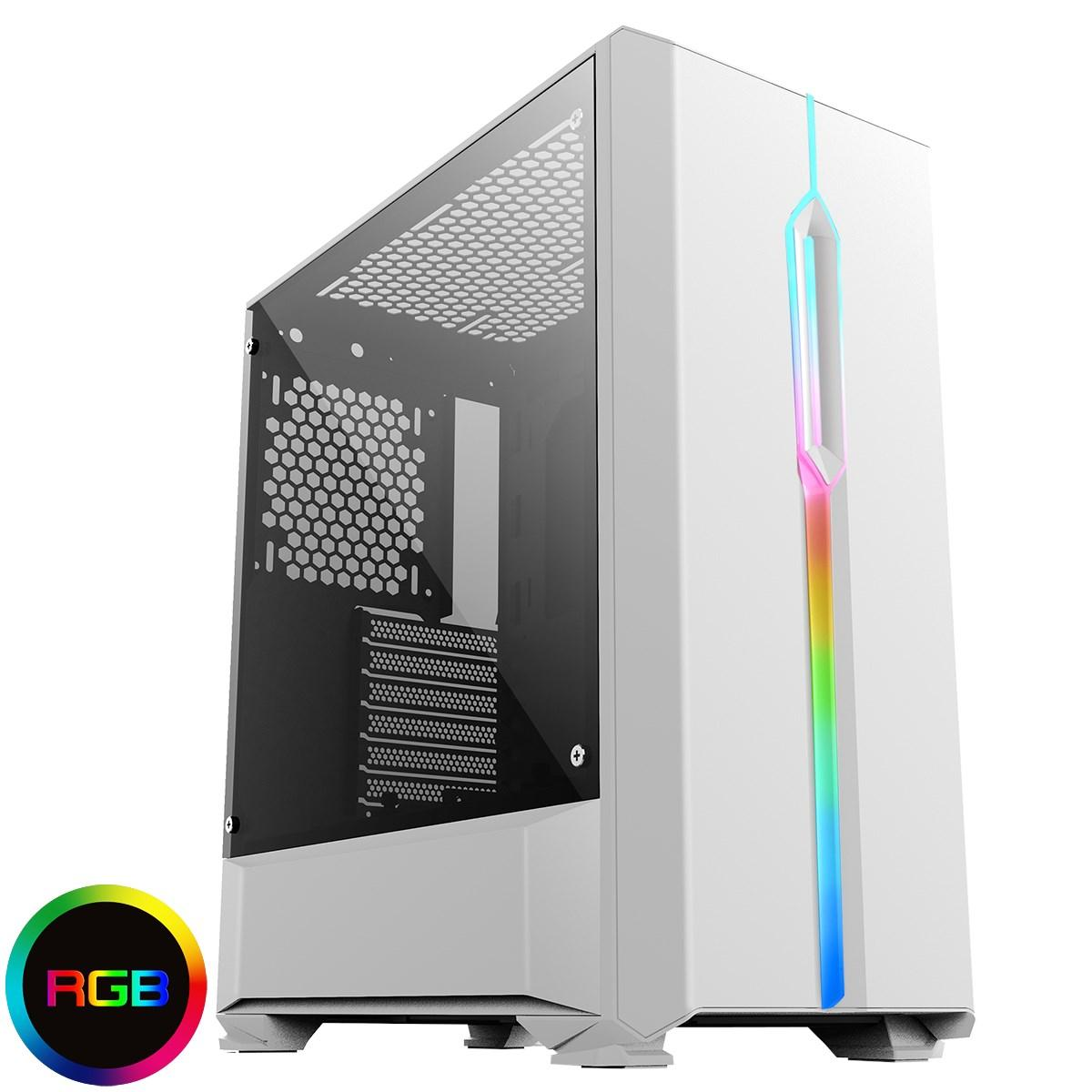 WM Arctic  - INTEL I5 9600K 6 CORE | RTX 2070 Gaming PC