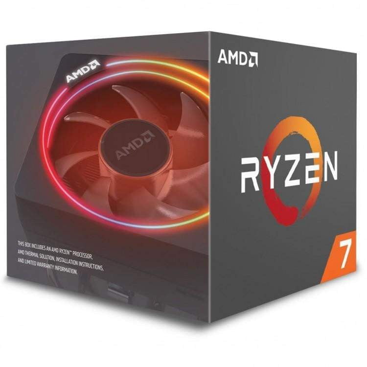 AMD Ryzen 7 Eight Core 2700X 4.35GHz (Socket AM4) Processor - Retail - WMTech - Buy Components | Gaming PC | Enterprise Solutions