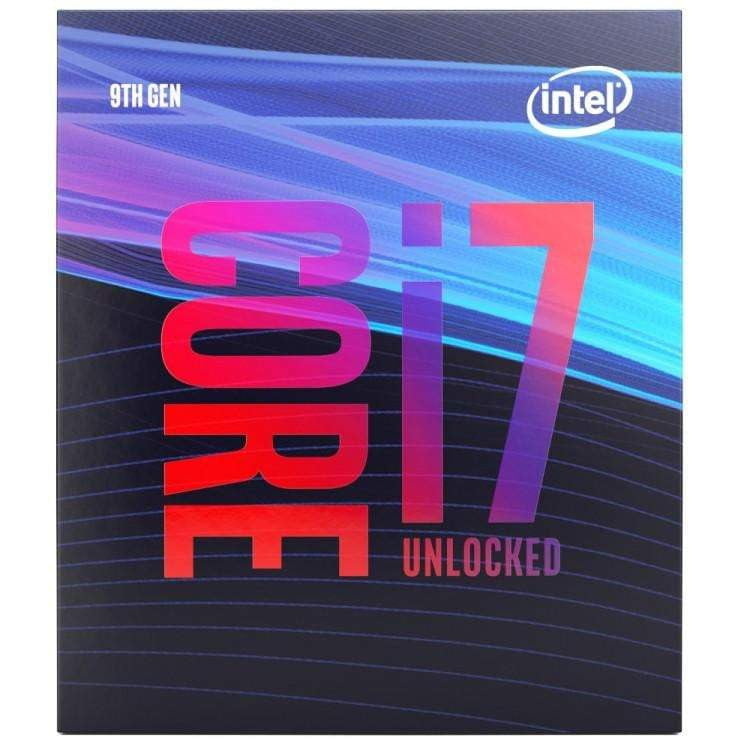 Intel Core i7-9700K 3.6GHz (Coffee Lake) Socket LGA1151 Processor - Retail - WMTech - Buy Components | Gaming PC | Enterprise Solutions