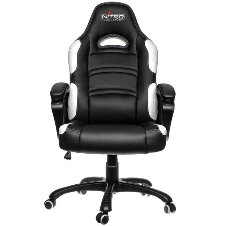 Nitro Concepts C80 Comfort Series Gaming Chair - Black/White - WMTech - Buy Components | Gaming PC | Enterprise Solutions