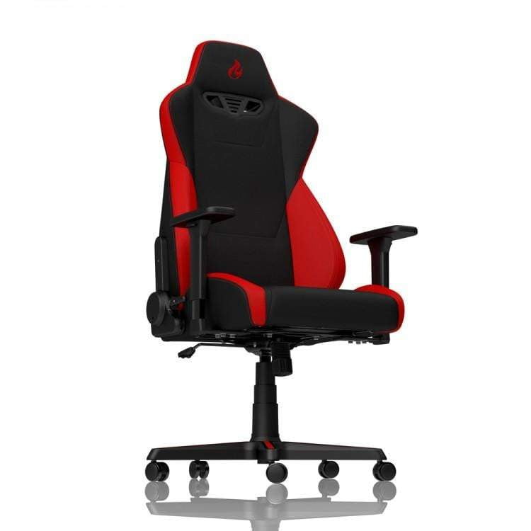 Nitro Concepts S300 Fabric Gaming Chair - Inferno Red - WMTech - Buy Components | Gaming PC | Enterprise Solutions
