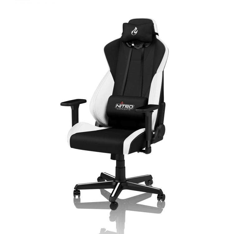 Nitro Concepts S300 Fabric Gaming Chair - Radiant White - WMTech - Buy Components | Gaming PC | Enterprise Solutions