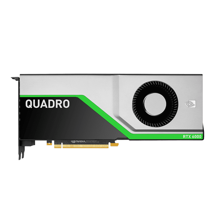 PNY NVIDIA QUADRO RTX 6000 GRAPHICS CARD - 24GB GDDR6 - 4608 CUDA CORE - WMTech - Buy Components | Gaming PC | Enterprise Solutions