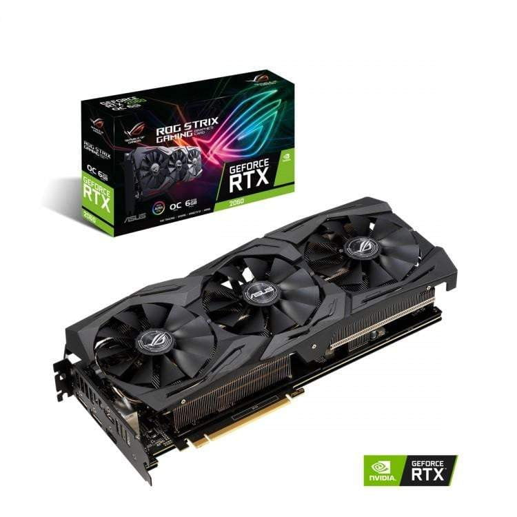 ASUS GEFORCE RTX 2060 STRIX GAMING OC 6144MB GDDR6 PCI-EXPRESS GRAPHICS CARD - WMTech - Buy Components | Gaming PC | Enterprise Solutions