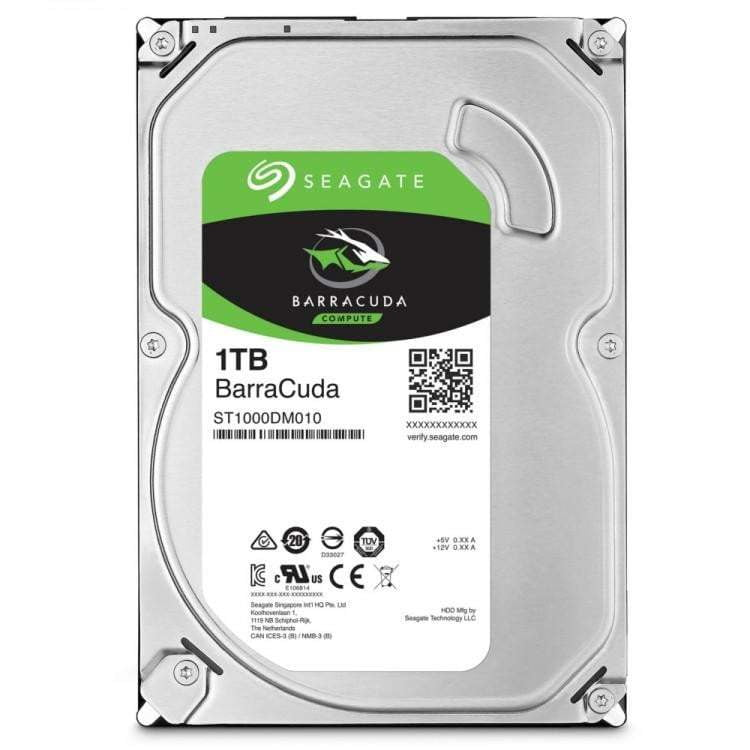 SEAGATE 1TB BARRACUDA 7200RPM 64MB CACHE INTERNAL HARD DRIVE - WMTech - Buy Components | Gaming PC | Enterprise Solutions