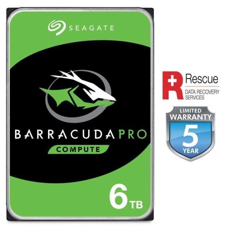 Seagate 6TB BarraCuda PRO 7200RPM 256MB Cache Internal Hard Drive - WMTech - Buy Components | Gaming PC | Enterprise Solutions