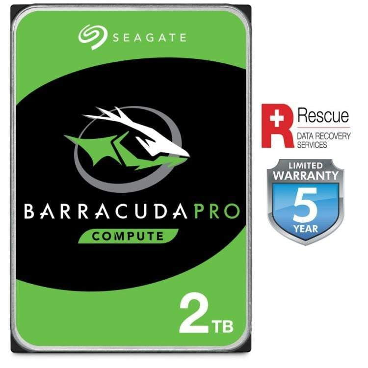 2TB BARRACUDA PRO 7200RPM 128MB CACHE INTERNAL HARD DRIVE - WMTech - Buy Components | Gaming PC | Enterprise Solutions