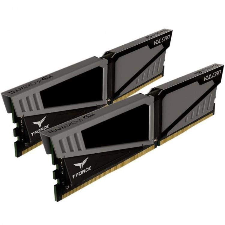 TEAM GROUP VULCAN T-FORCE 8GB (2X4GB) DDR4 PC4-19200C14 2400MHZ DUAL CHANNEL KIT - GREY - WMTech - Buy Components | Gaming PC | Enterprise Solutions