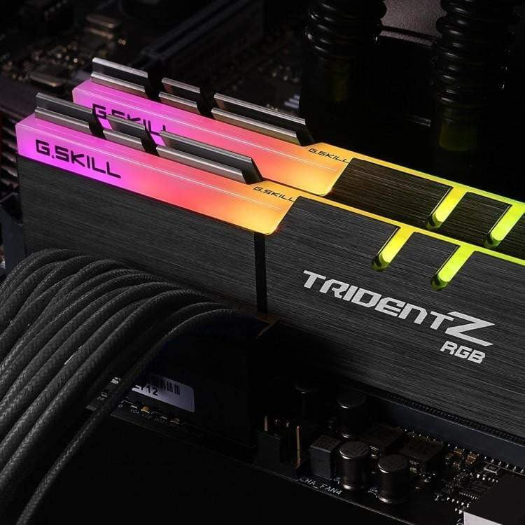 G.Skill Trident Z RGB 16GB (2x8GB) DDR4 PC4-24000C16 3000MHz Dual Channel Kit (F4-3000C16D-16GTZR) - WMTech - Buy Components | Gaming PC | Enterprise Solutions