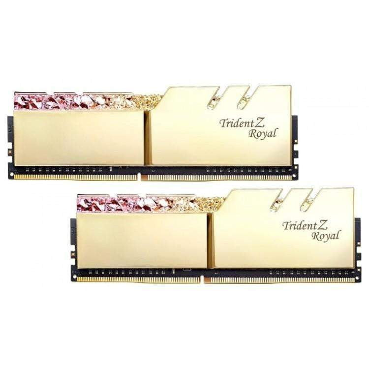 TRIDENT Z ROYAL 16GB (2X8GB) DDR4 PC4-36800C18 4600MHZ DUAL CHANNEL KIT - GOLD - WMTech - Buy Components | Gaming PC | Enterprise Solutions