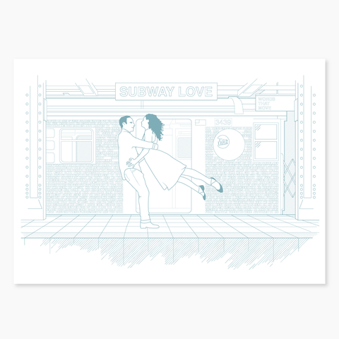 Subway Love - Max Stossel Collaboration