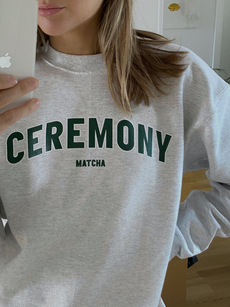 Ceremony College Sweater Green