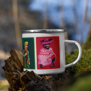 Sunset Riders Enamel Mug