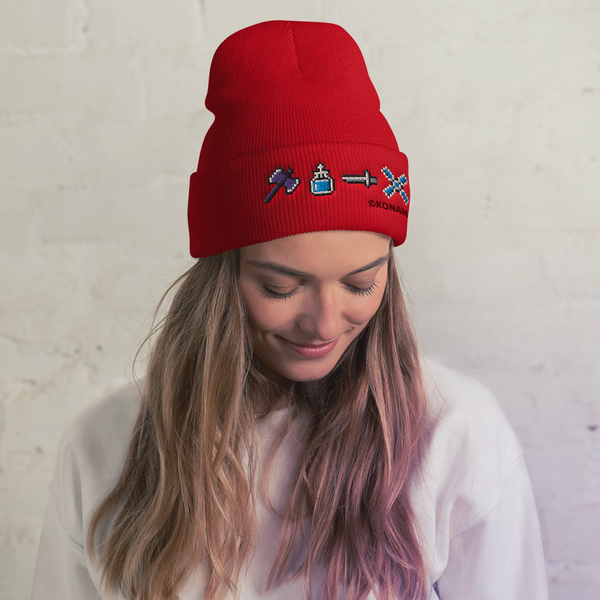 Pixel Weapons Beanie