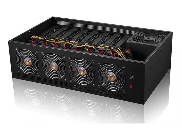 MineChamber 2  all in one 8GPU mining rig case.