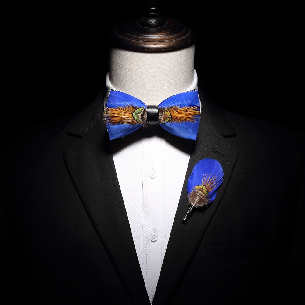 Feather Bow Ties Collection
