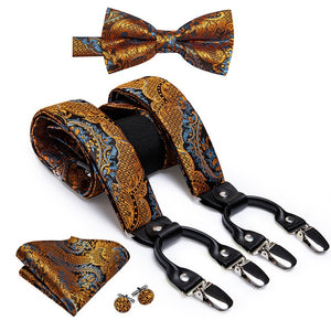 Fancy Men's Suspender Set