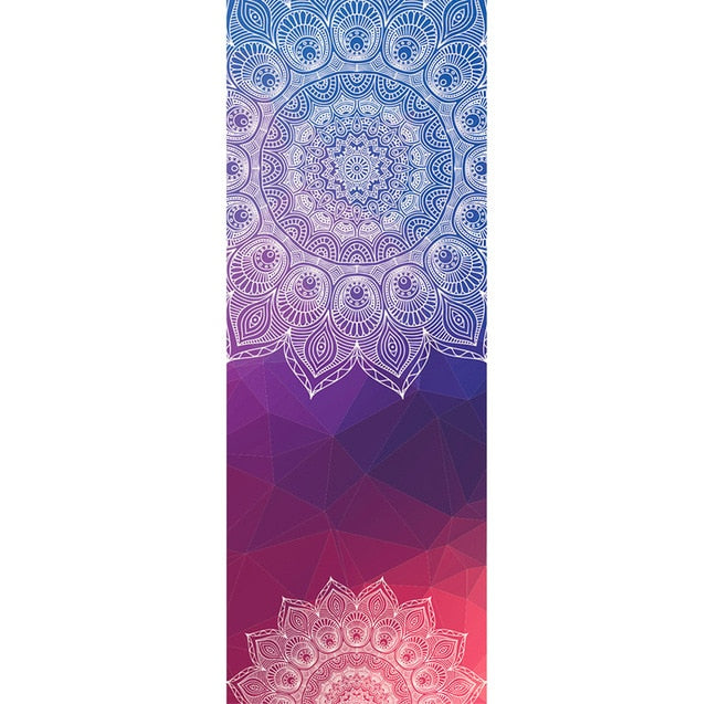 Mandala Anti Slip Yoga Towel