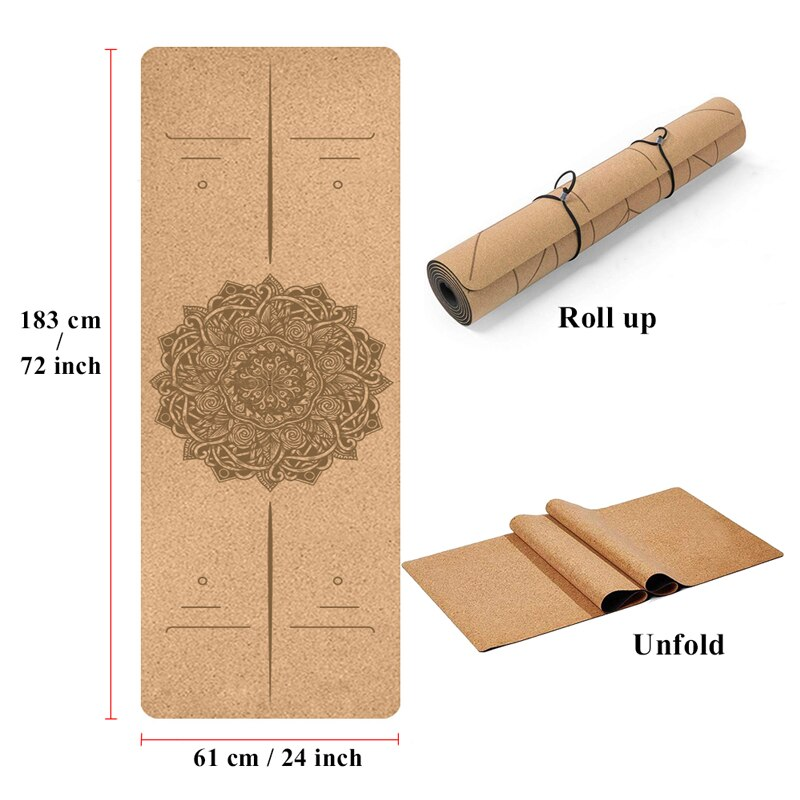 Natural Cork Yoga Mat