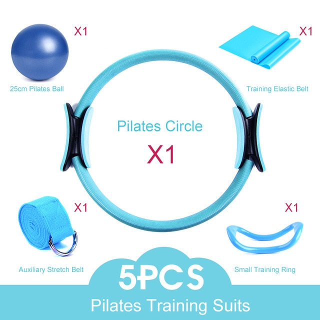 5PCS Yoga&Pilates Set
