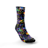 ''Retro party'' crew running socks