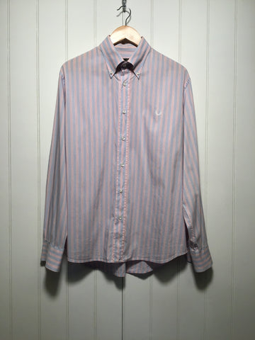 Fred Perry Slim Fit Striped Shirt (Size XL)