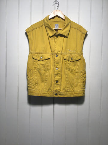 Diesel Sleeveless Denim Jacket (Size L)