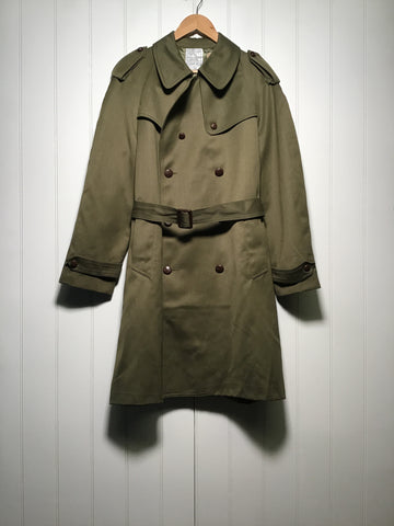 Military Trench Coat (Size L)