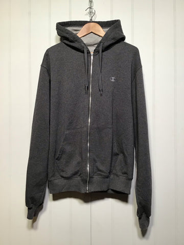 Champion Zip Up Hoodie (Size L)