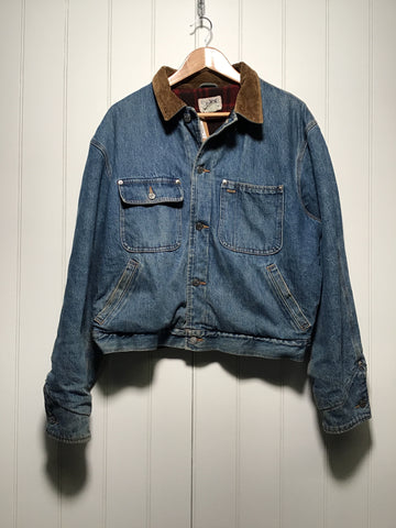 Ralph Lauren Polo Lined Denim Jacket (Size L)