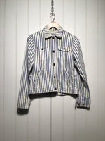 Ralph Lauren Striped Denim Jacket (Women's Size S)