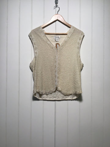 Rafaella Beaded Top (Size M)