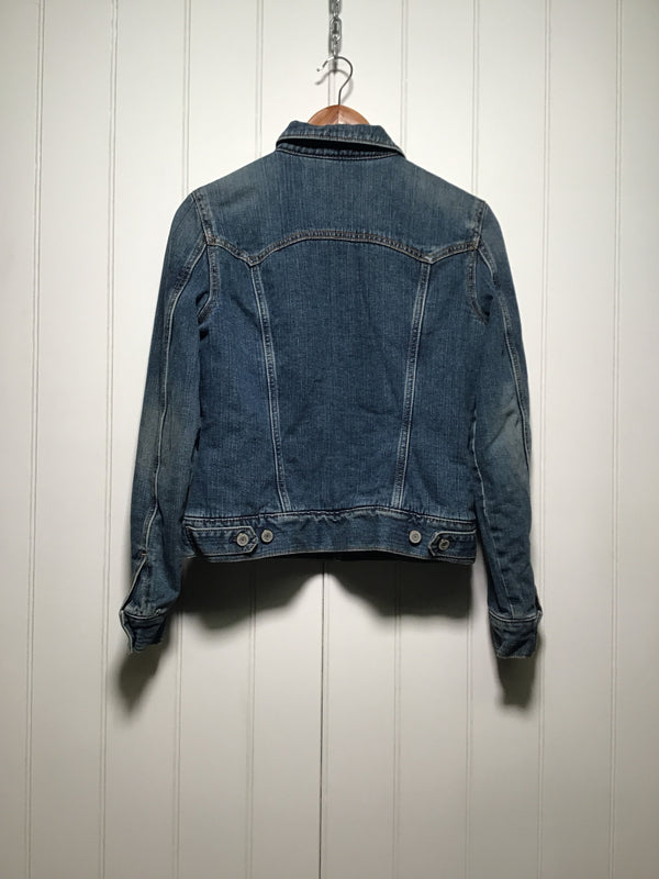 Gap Denim Sherpa Jacket (Size S)