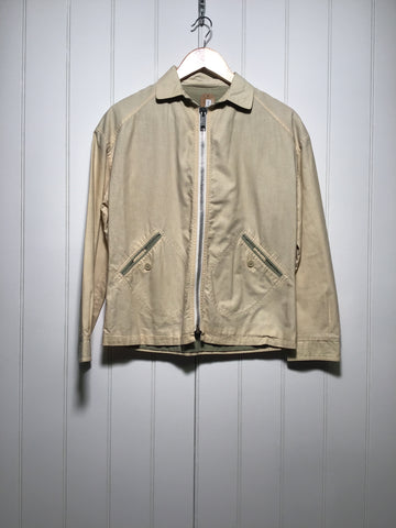 Zip Up Cotton Jacket (Size S)
