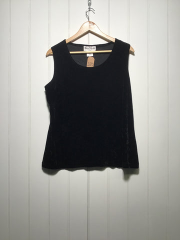 Velvet Evening Top (Size M)