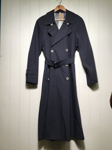 Belted Double Breasted Trench Coat (Size M)