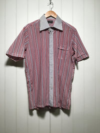 Check and Striped Shirt (Size L)