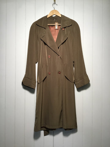 Rossetti Belted Trench Coat (Size M)