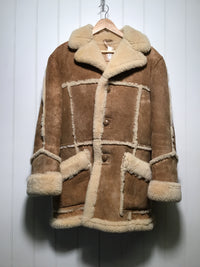 Durrani Bros Ltd Sheepskin Flying Jacket (Size M)