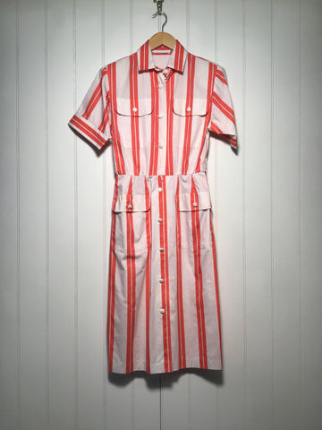 Striped Dress (Size S)